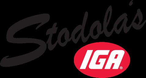 A theme footer logo of Stodola's IGA